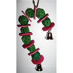 Christmas Vine Ball Candy Cane