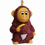 Polly Wanna Monkey Pinata small