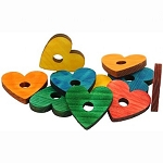 Zoo Max Colorful Pine hearts 10 pack