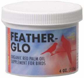 Morning Bird Products Feather-Glo Organic Palm Oil 4 oz